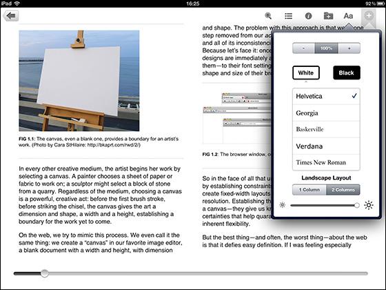 Safari Books Onlineのリーディングシステム