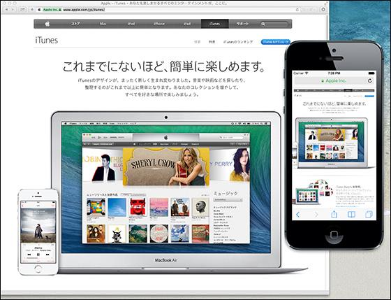 Appleのウェブサイト